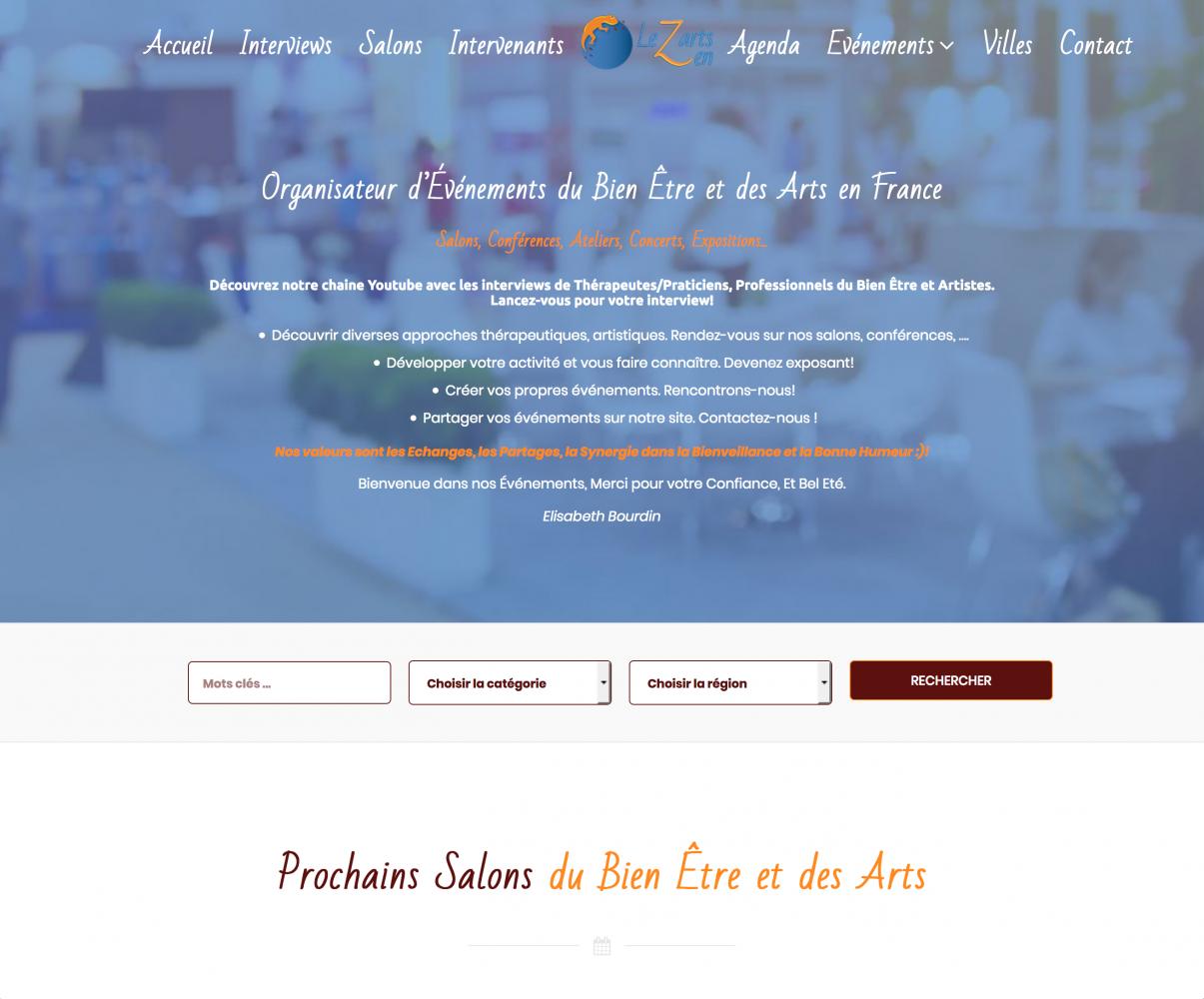 Calendrier Des Salons Bien Etre 2020.Lezarts Zen I Organisateur D Evenements Du Bien Etre Salon